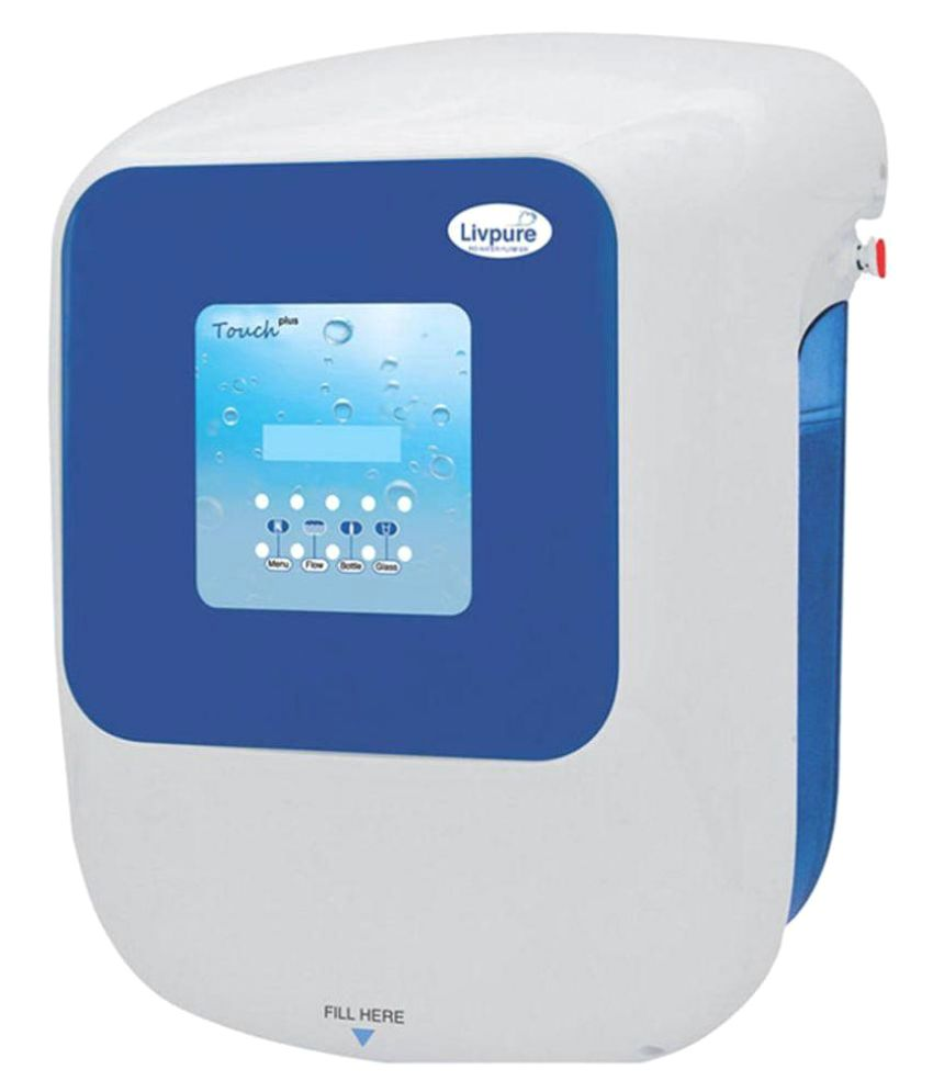 Water Purifier For Home Livpure Touch 2000 Plus Ro Uv Uf Taste Enhancer Rouvuf Water