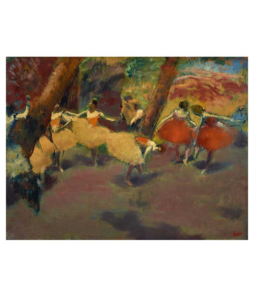 Tallenge Dance Art Canvas Art Prints With Frame Single Piece