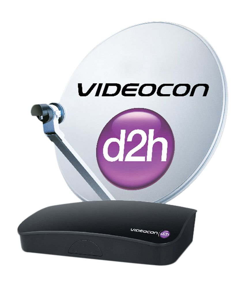 Videocon d2h SD Super Gold Pack with 1 Month Subscription Free