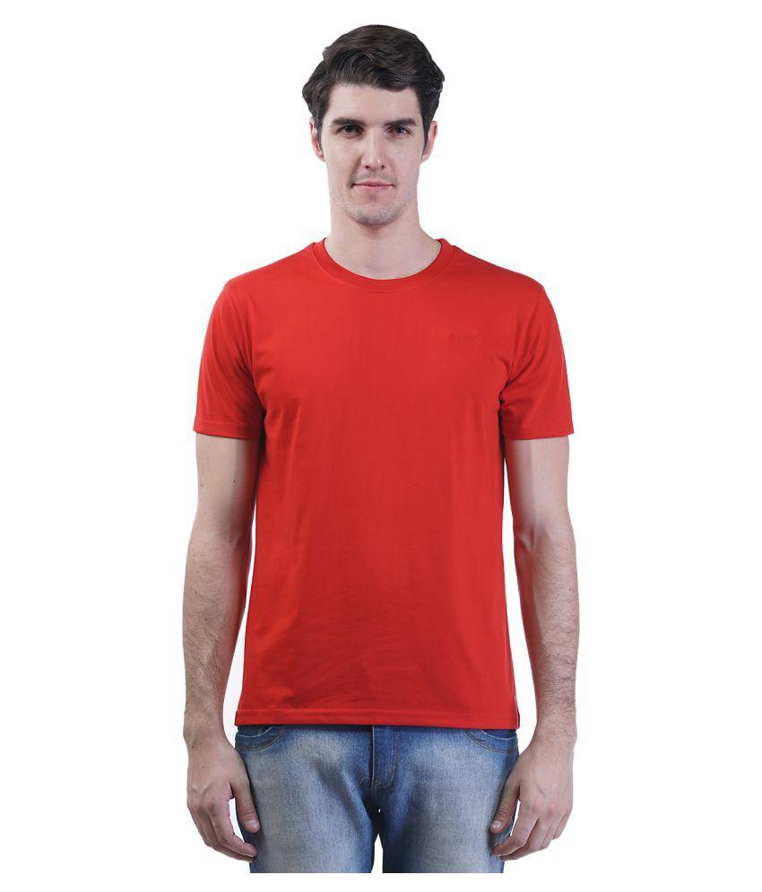 Griffel Red Round T-Shirt