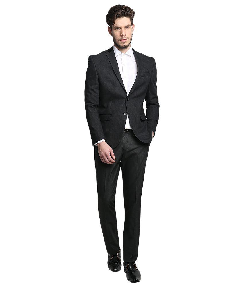 BLACKBERRYS Black Regular Fit Blazer