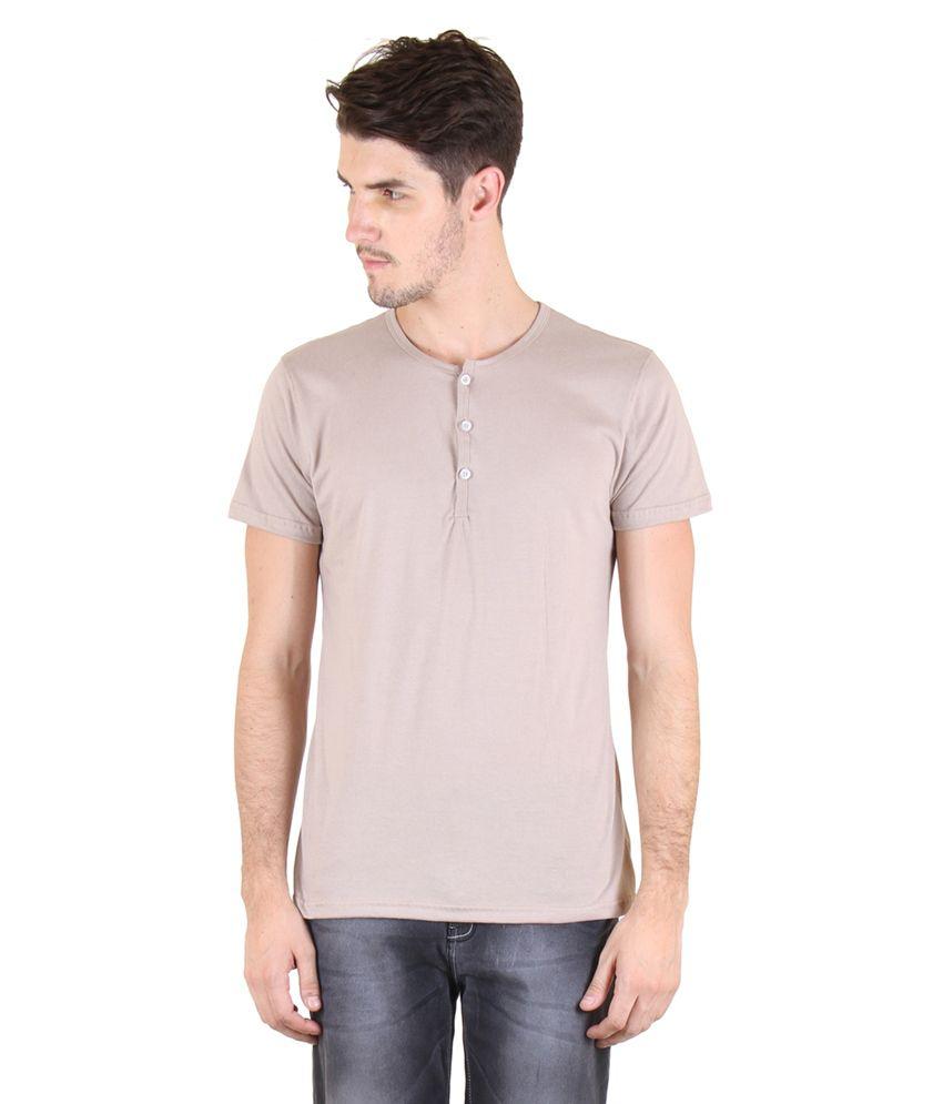 Incynk Brown Henley T-Shirt