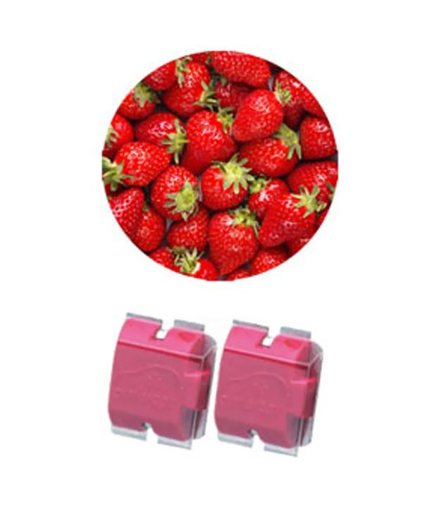 Ambicar - Electric Car Air Freshner/Diffuser Refill Pack - Red Fruits(Sweet And Fruity) Fragrance