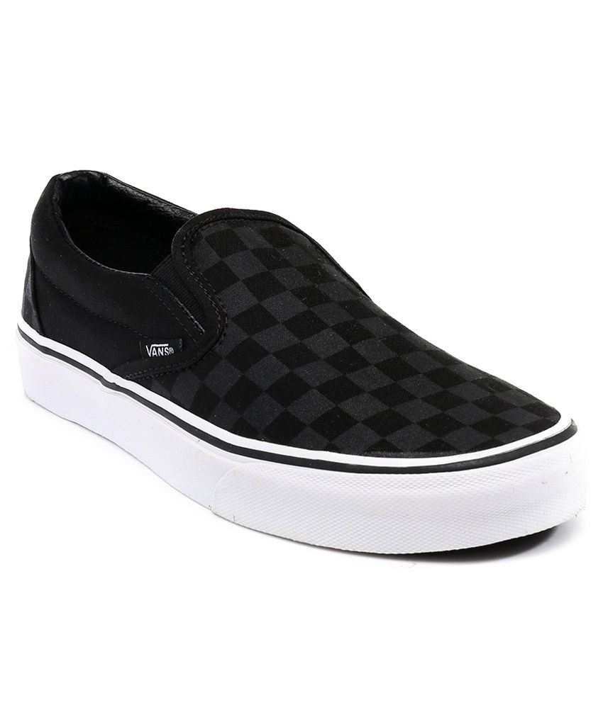 VANS Black Checkerboard Casual Shoes Price in India- Buy VANS Black  Checkerboard Casual Shoes Online at Snapdeal d1b45595f4