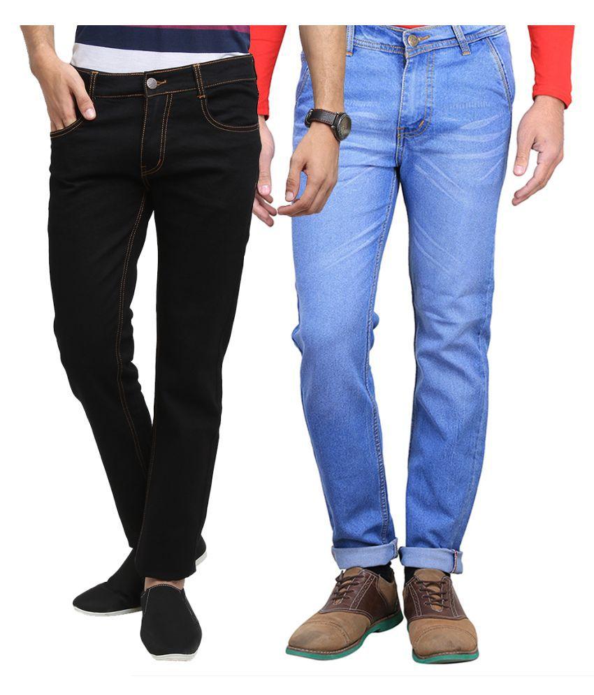 Van Galis Multi Slim Washed Jeans - Pack of 2