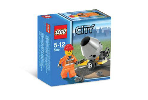 lego city builder set 5610 hard hat construction worker with small rh snapdeal com