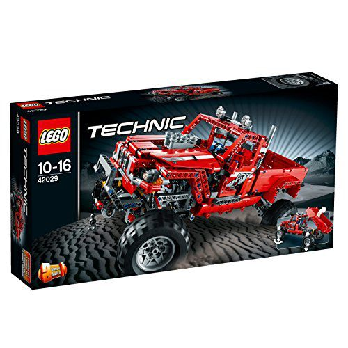 Lego Technic Customised Pick Up Truck, Multi Color  available at snapdeal for Rs.28476