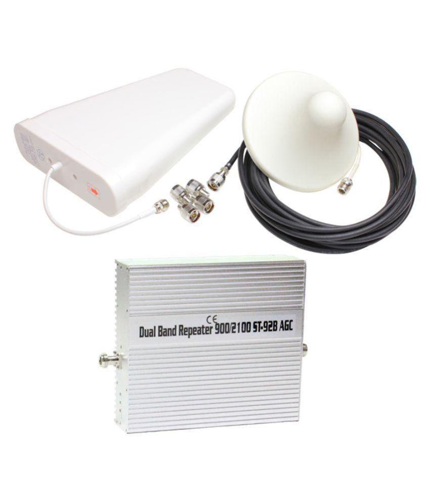 Lintratek ST-92B 900Mhz + 3G + 4G Mobile Signal Booster 1600 RJ11 White