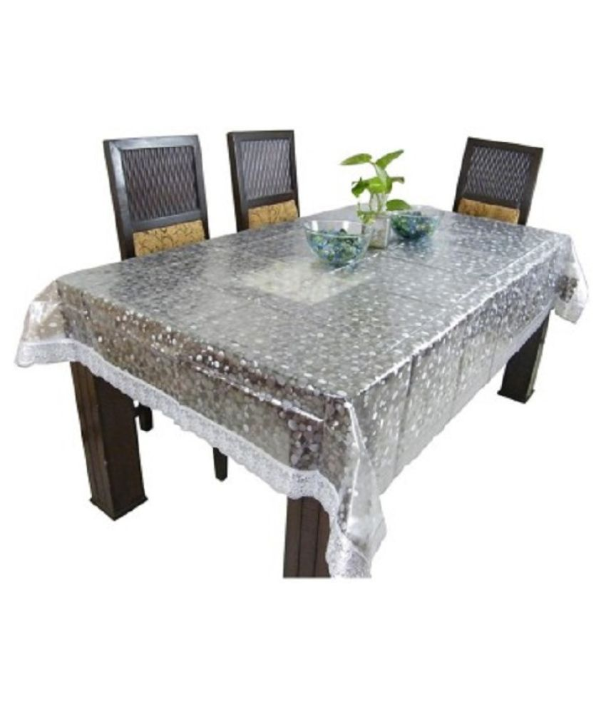 kuber industries dining table cover 3d 6 seater 60 90