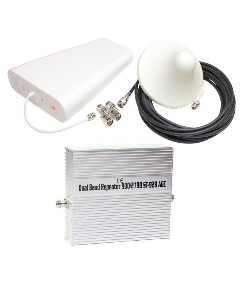 Lintratek ST-92B 2G + 3G Mobile Cell Phone Signal Amplifier 1600 RJ11 White