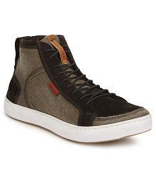 Provogue PV8130 Brown Sneaker Casual Shoes