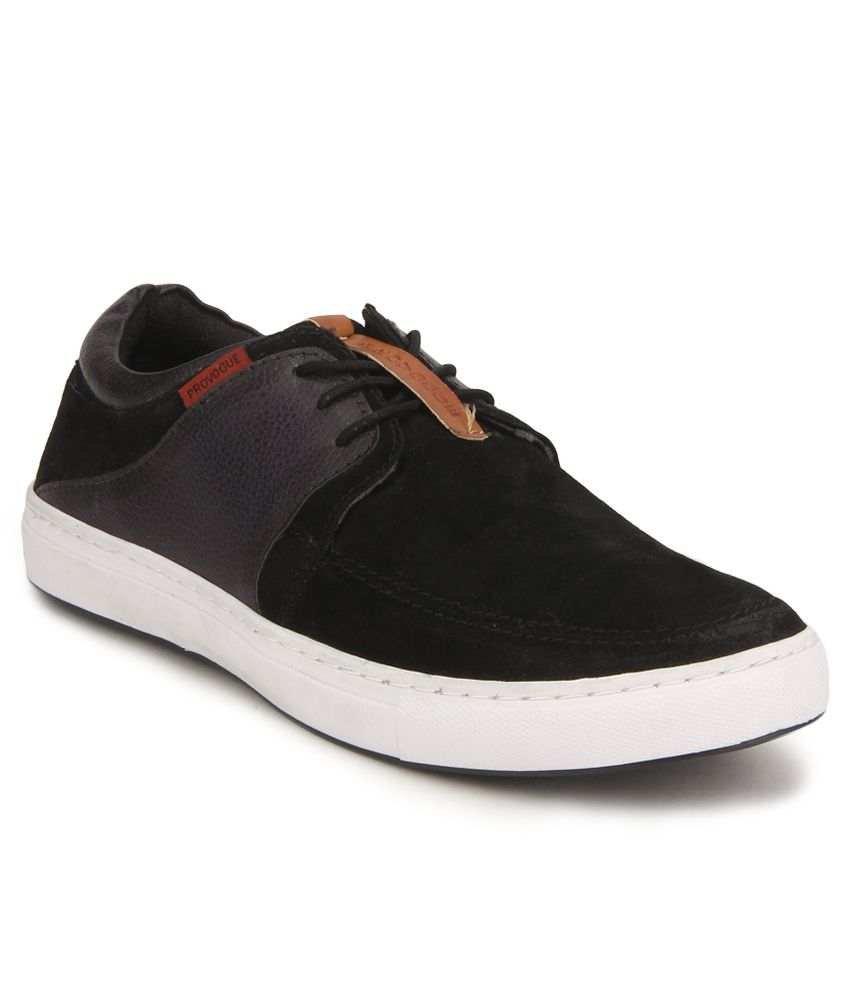 Provogue Pv8131 Black Sneaker Casual Shoes