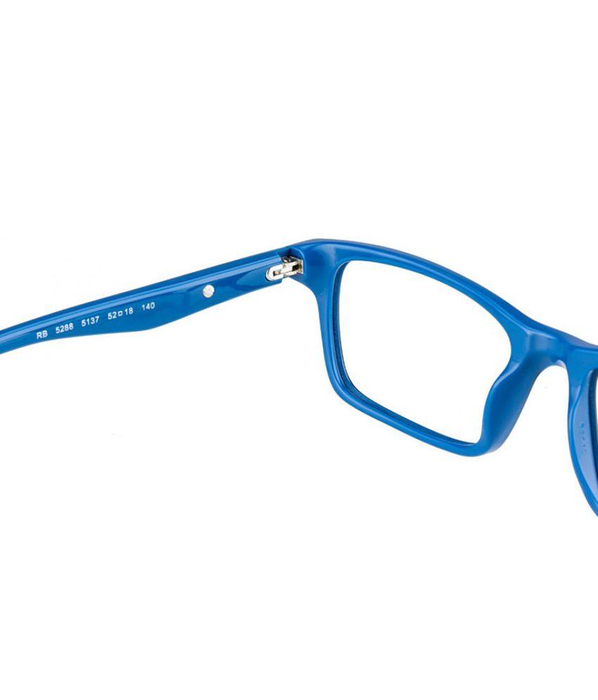 da7f3b9252 RAY-BAN RX-5288-5137-52 Men Rectangle Eyeglasses - Buy RAY-BAN RX ...