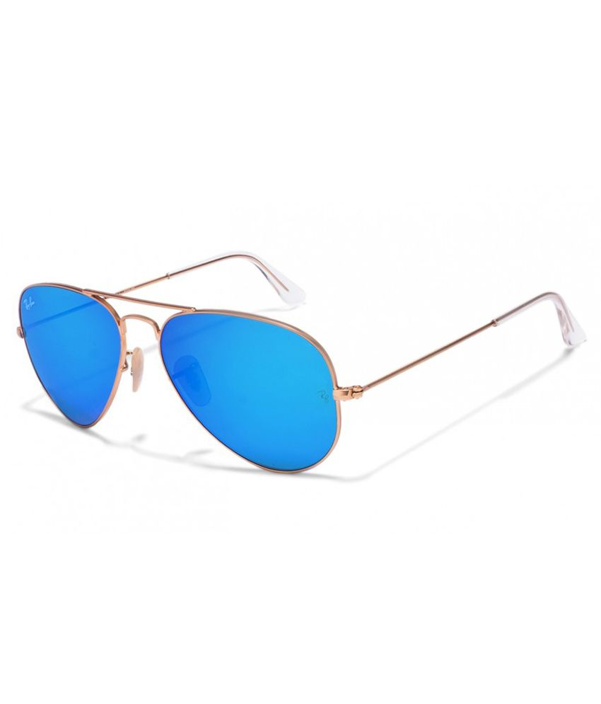 3cedc679ef805 Ray-Ban Blue Aviator Sunglasses (RB3025 112 17 55-14) - Buy Ray-Ban Blue  Aviator Sunglasses (RB3025 112 17 55-14) Online at Low Price - Snapdeal