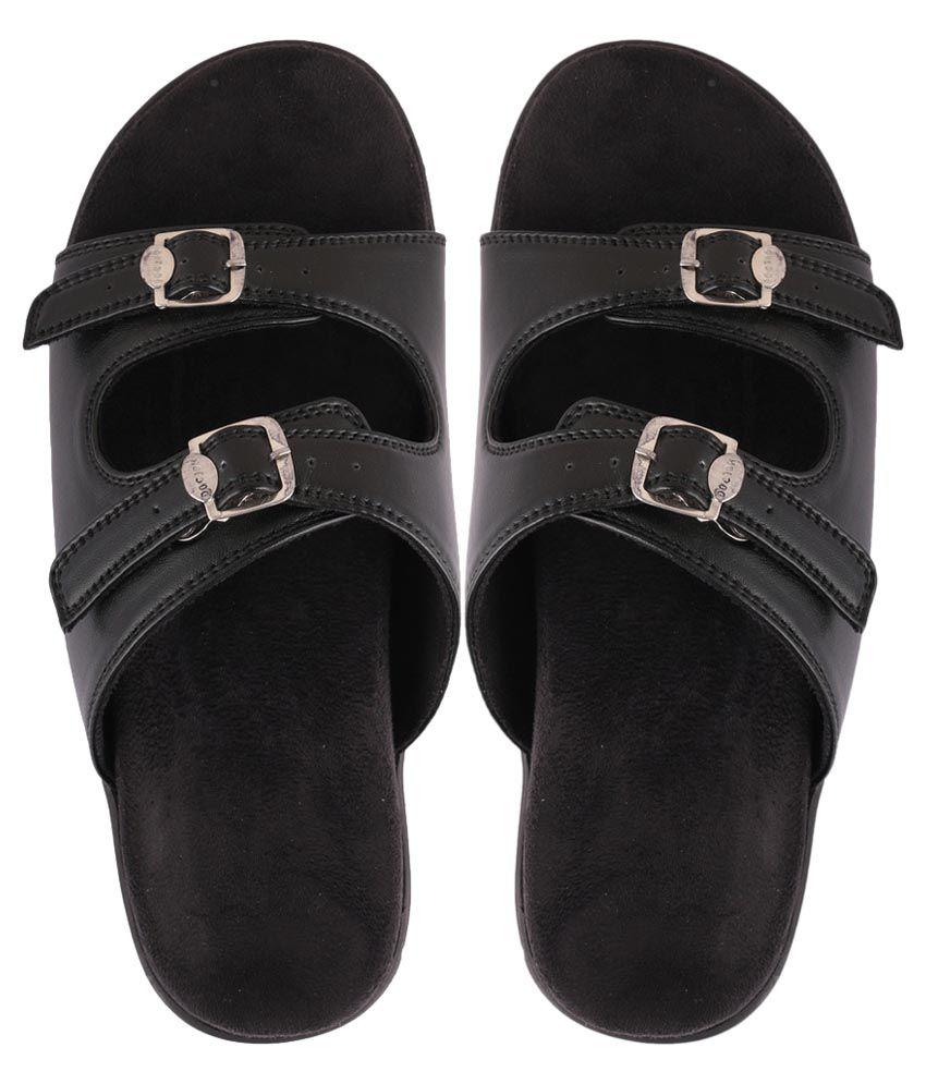 DAB Black Slippers