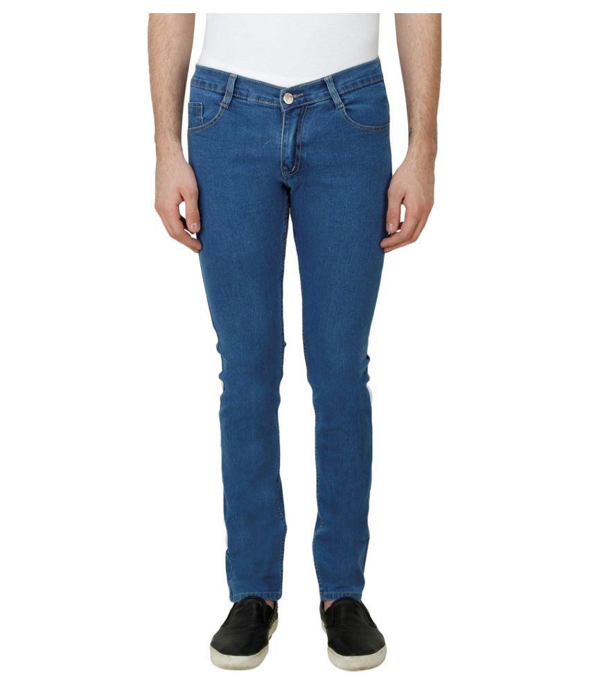 Haltung Dark Blue Slim Solid