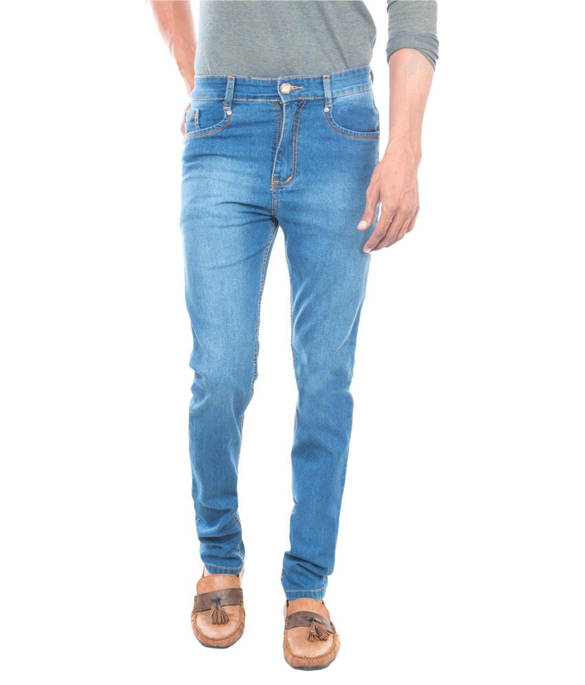 David Flynn Blue Relaxed Washed