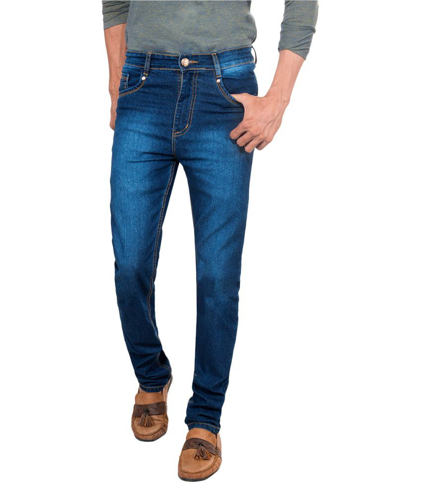 David Flynn Indigo Blue Relaxed Washed