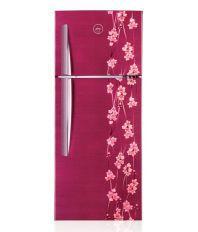 Godrej 290 Ltr 3 Star RT Eon 290 P 3.4 Frost-free Double-door Refrigerator Ruby Petals