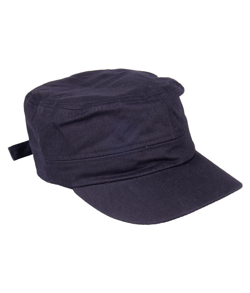 Chkokko Black Cotton Military Cap for Women  Buy Online at Low Price ... 55084d6ad