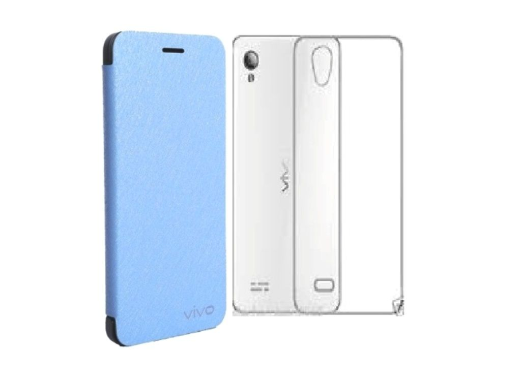 brand new a404d e1db5 Vivo Y31 L Flip Cover by Vivo - Blue