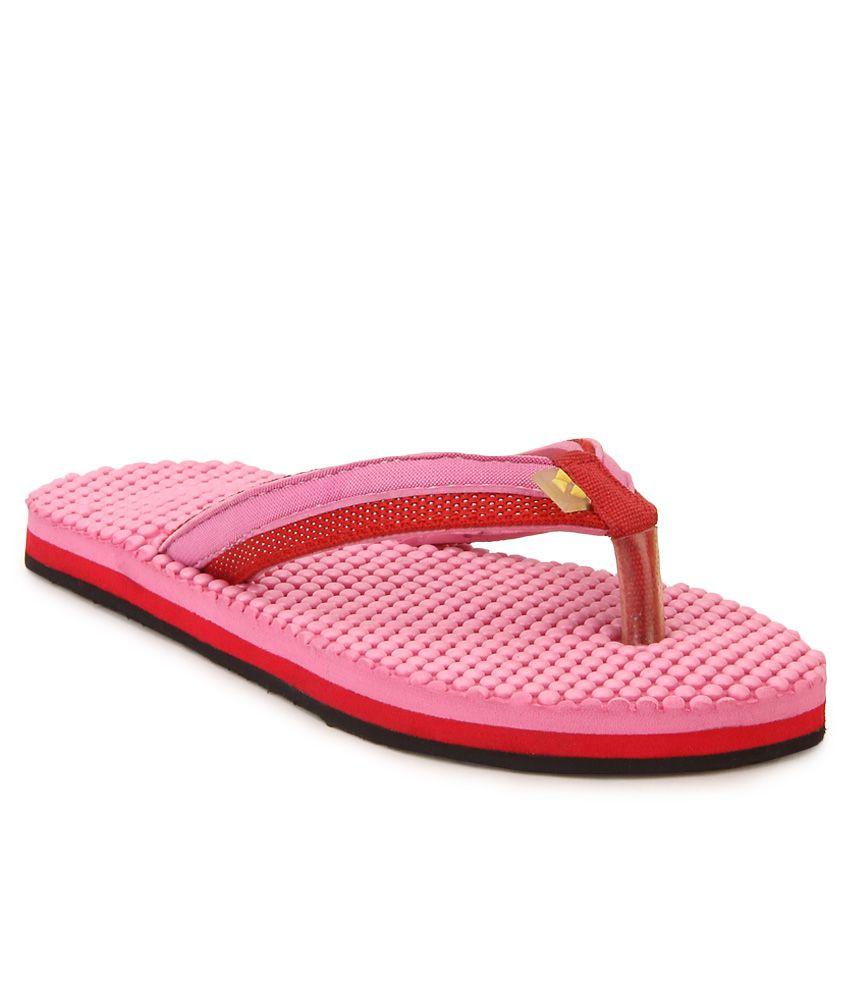 Windwalker IZU Pink Flip Flops