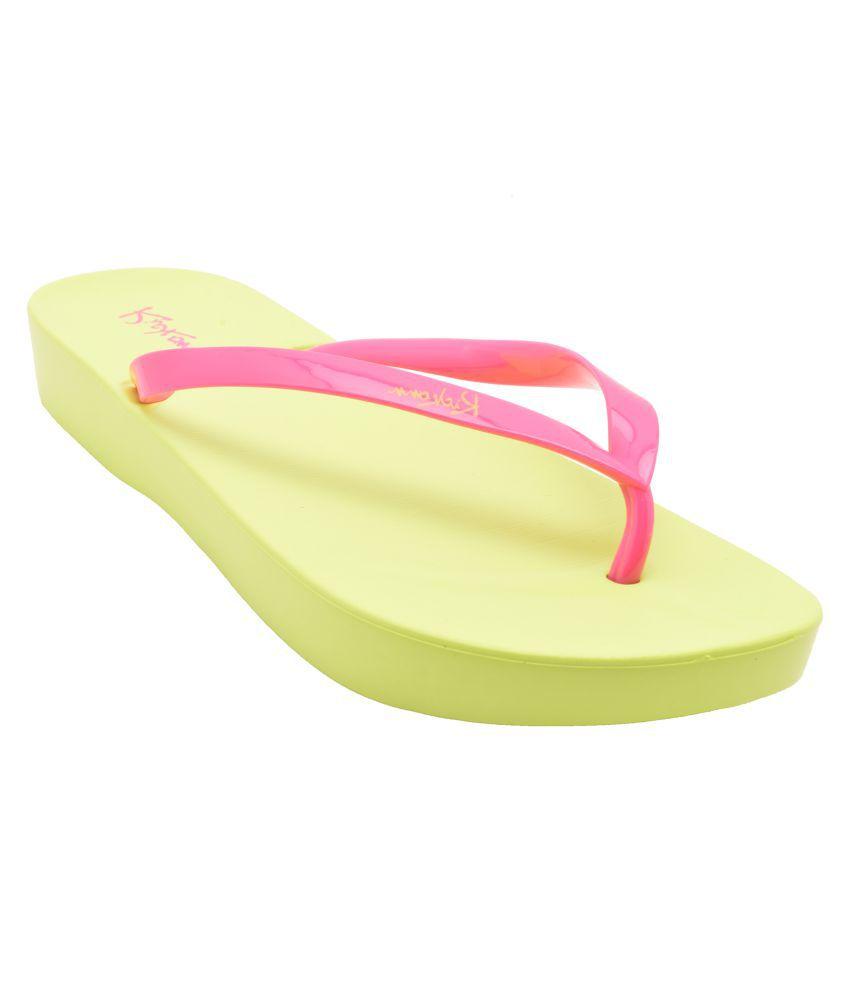 ELLE WINGS Pink Slippers