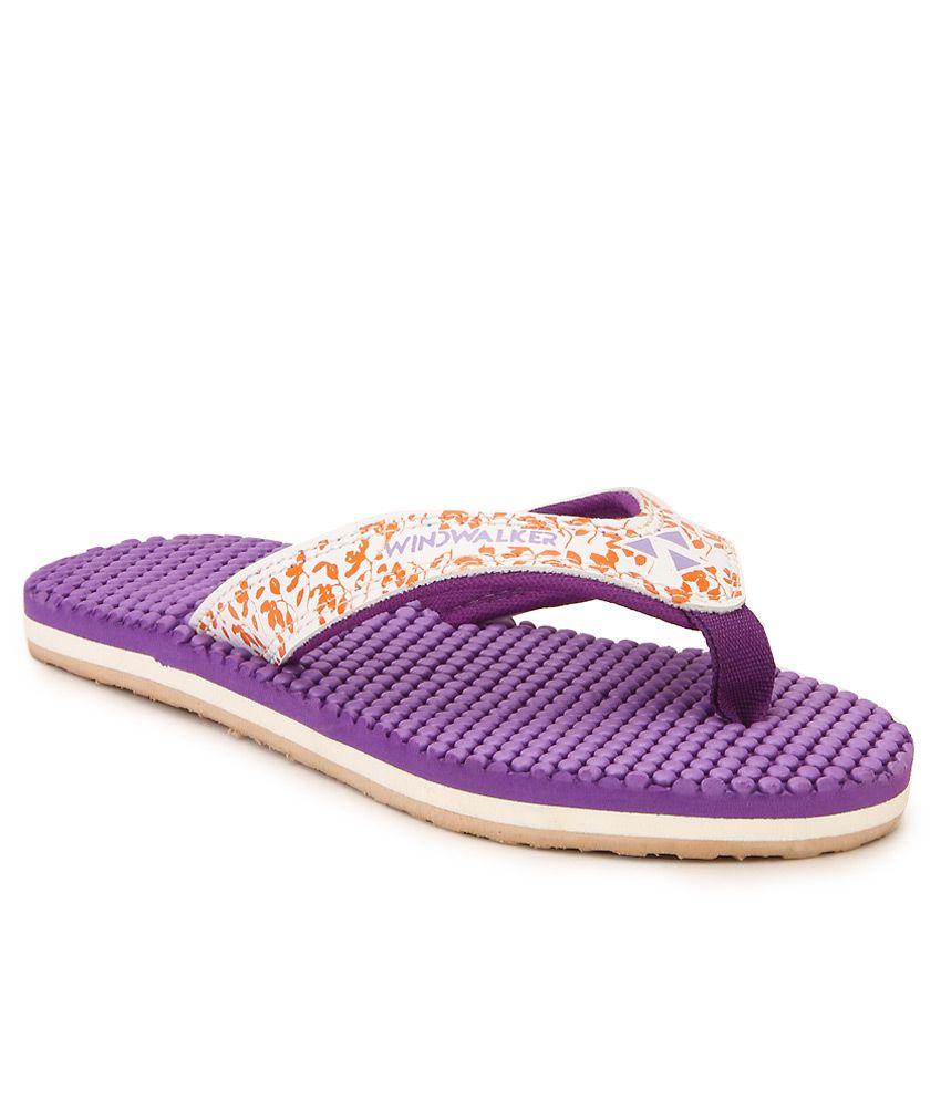 Windwalker IZU 2 Violet Flip Flops