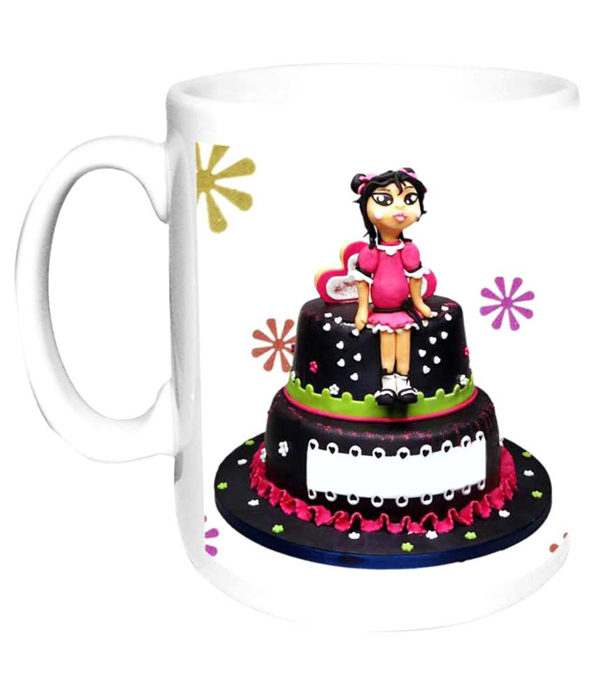 ea81630ab71f Alwaysgift Happy Birthday My Sweet Sister White Ceramic Coffee Mug  Buy  Online at Best Price in India - Snapdeal