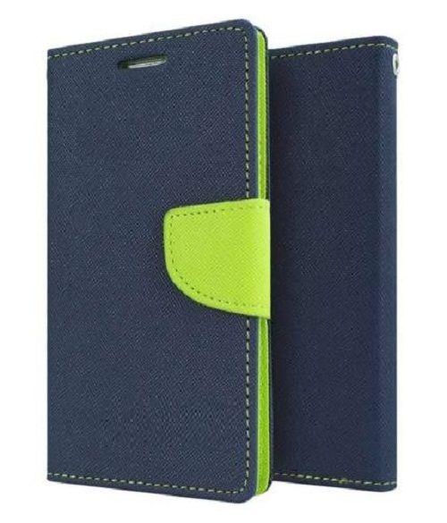Samsung Galaxy J7 Flip Cover by Goospery - Blue