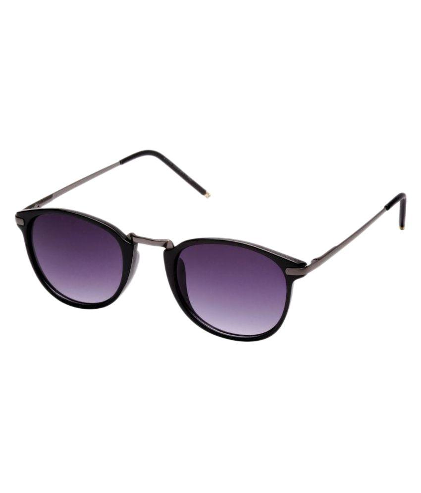 Orkee Blue Wayfarer Sunglasses ( GL18 )