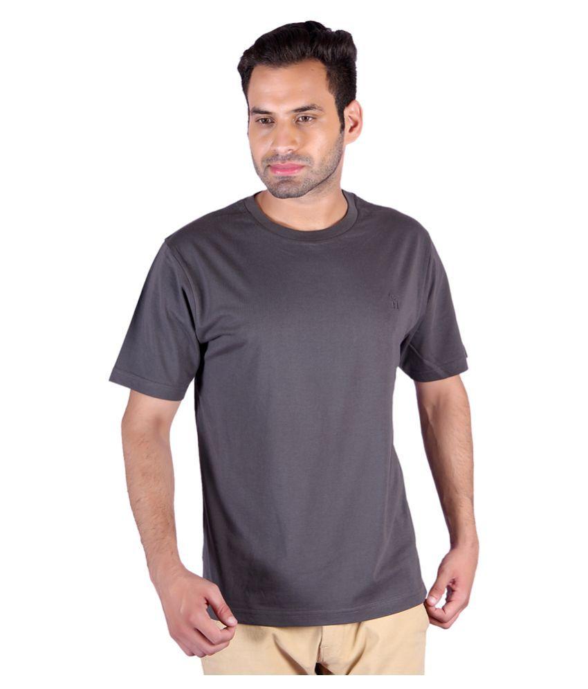 Humbert Grey Round T-Shirt