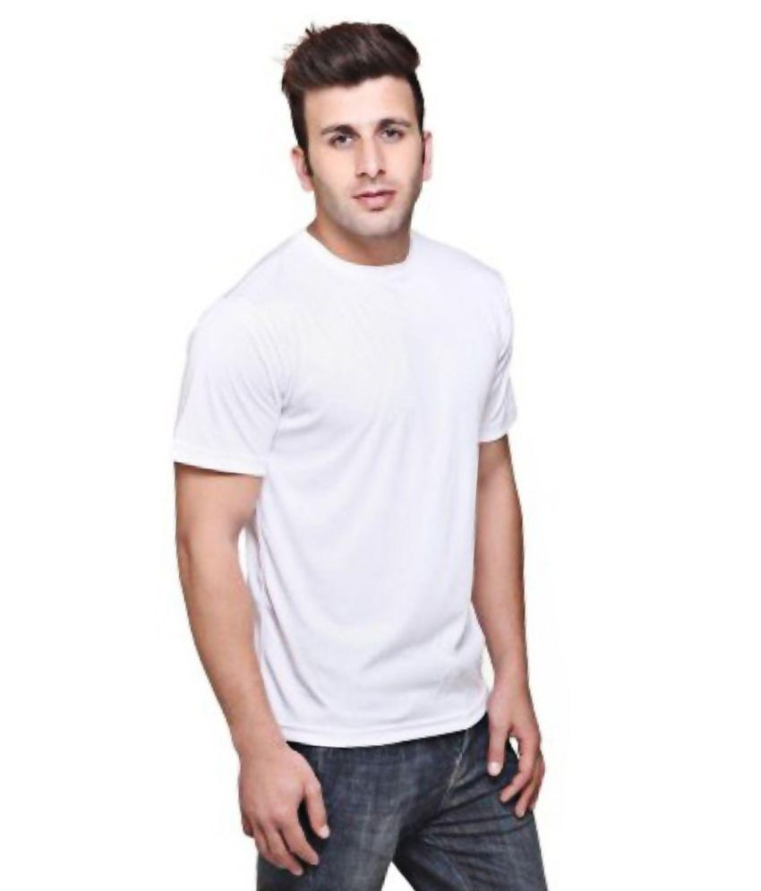 SK Bags White Cotton T-Shirts