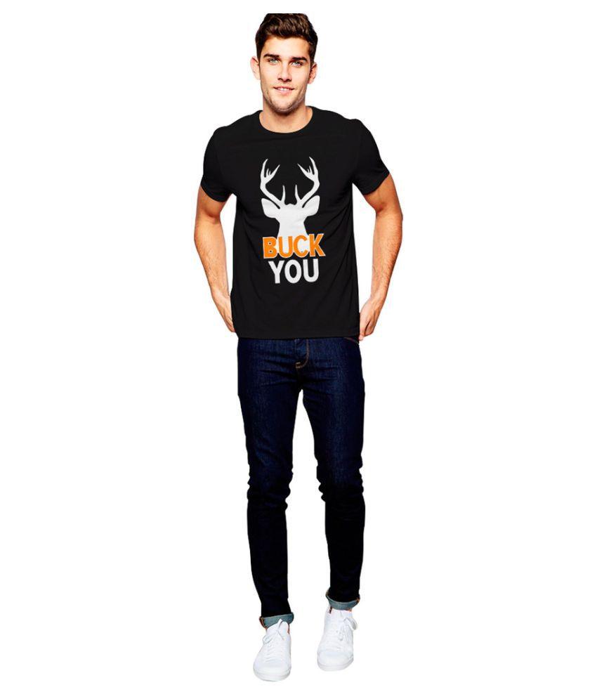 Uptown 18 Black Round T-Shirt