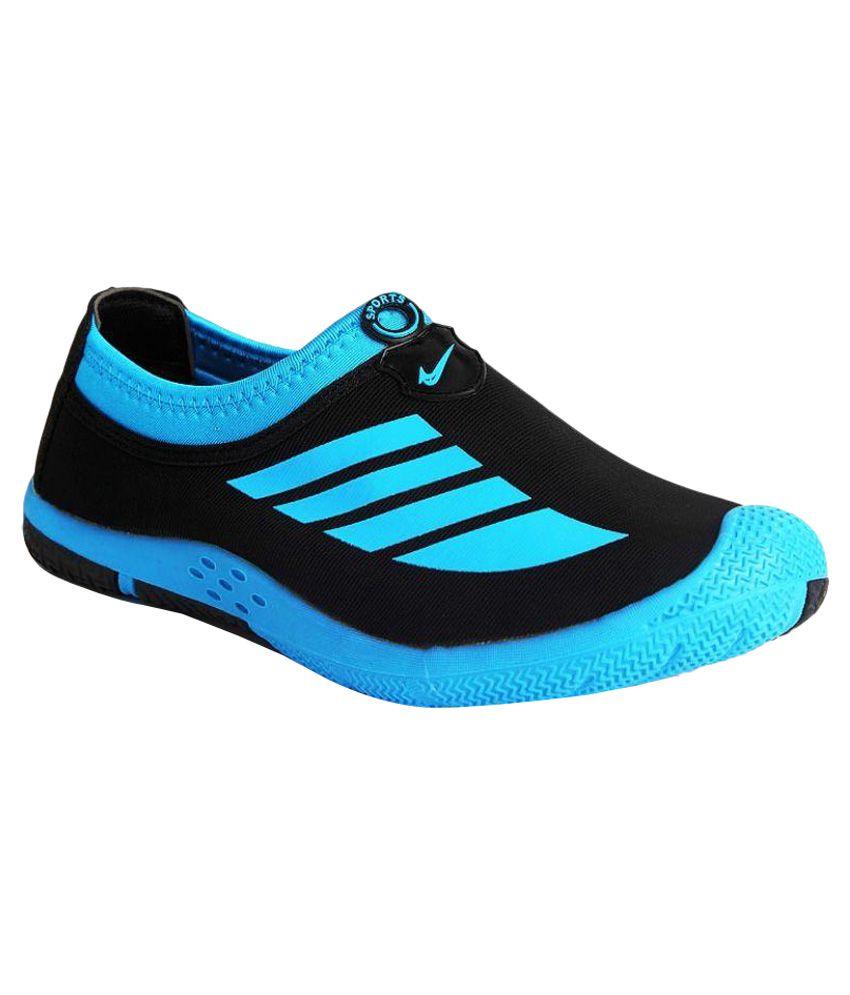 Vir Sport Black Running Shoes