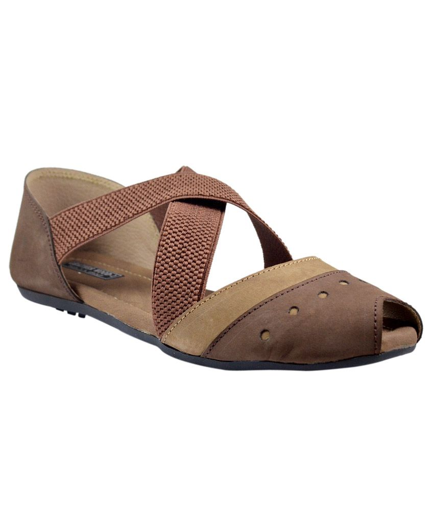 Leatherwood1 Beige Flats