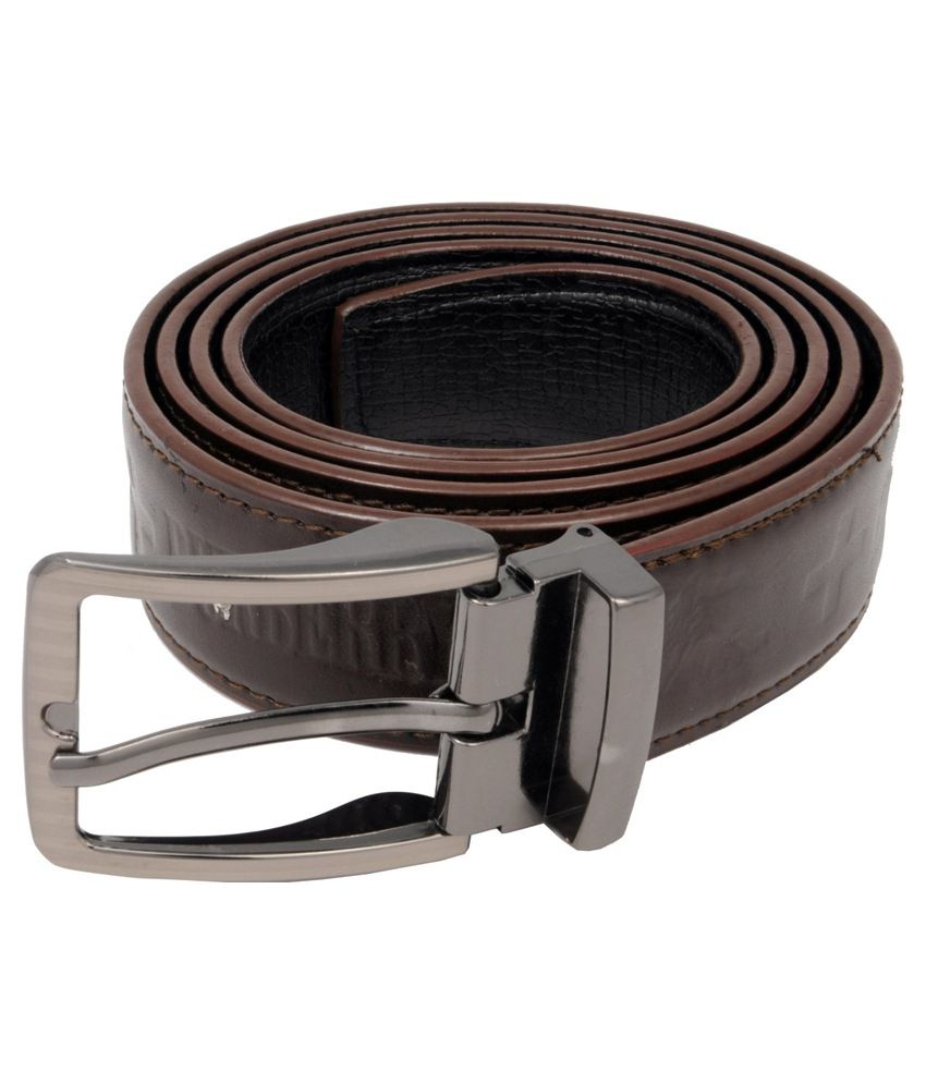 WOAP Brown PU Casual Belts