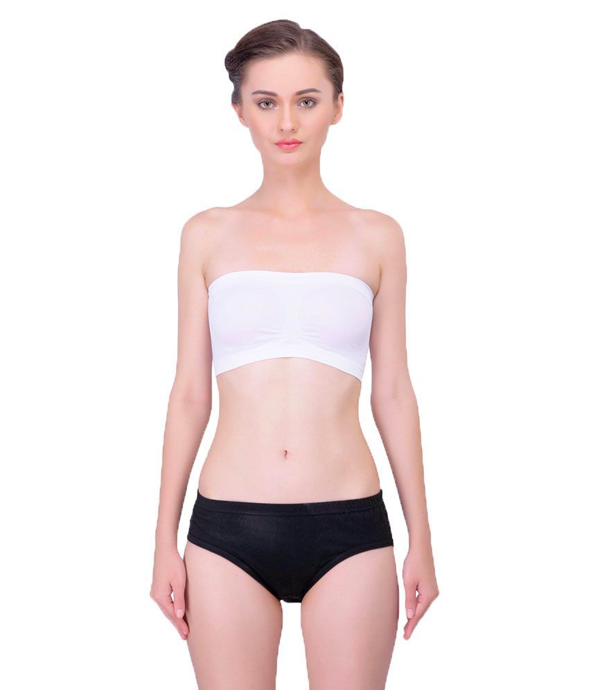 Lure Wear White Nylon Bras