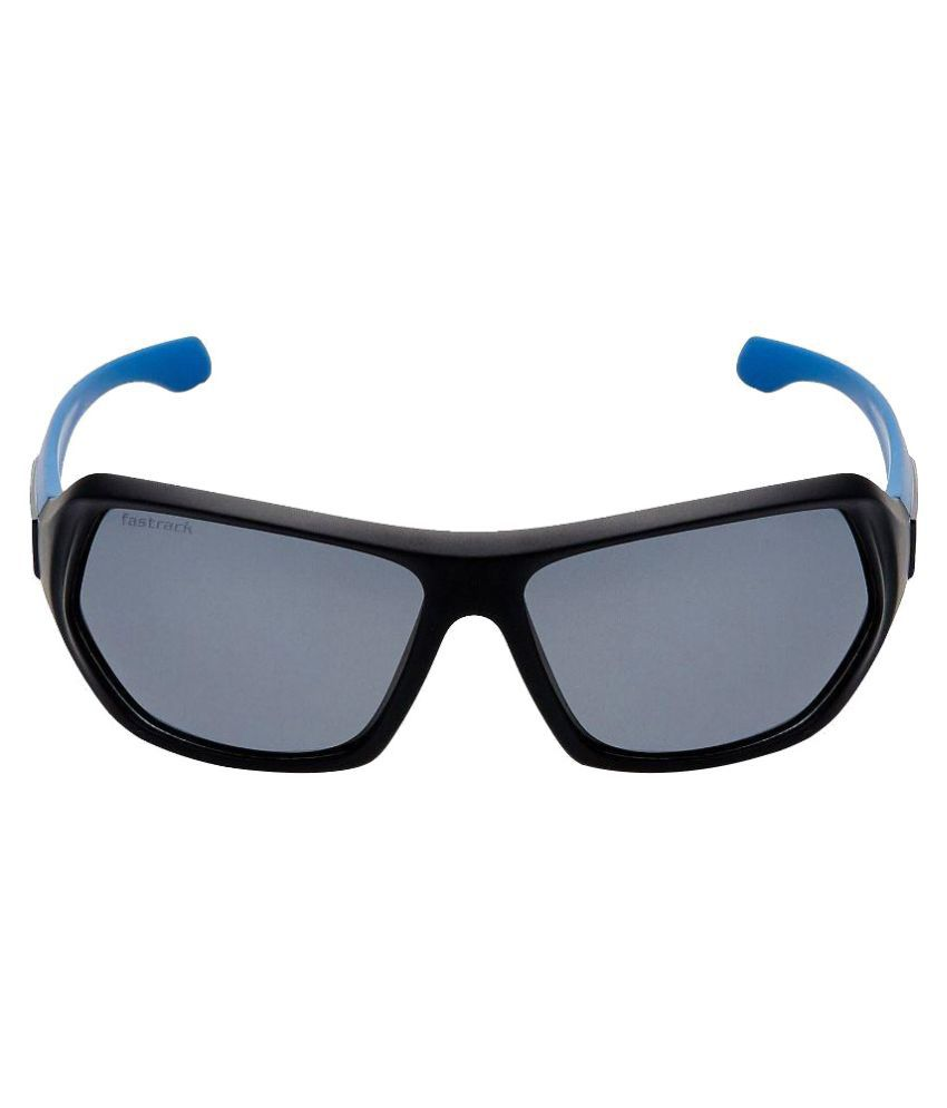 Fastrack Black Wayfarer Sunglasses  fastrack black wayfarer sunglasses p322bk3p fastrack