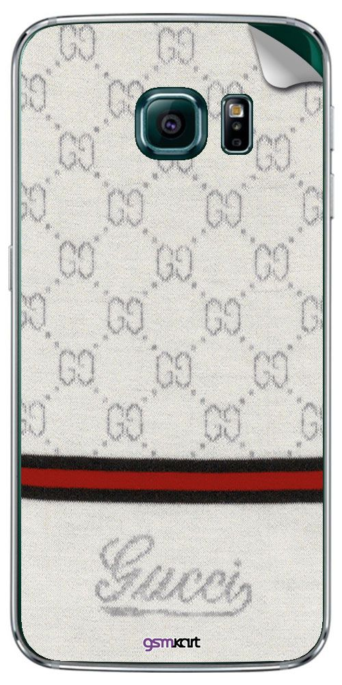 Samsung Galaxy S7 Designer Stickers by GsmKart - Silver