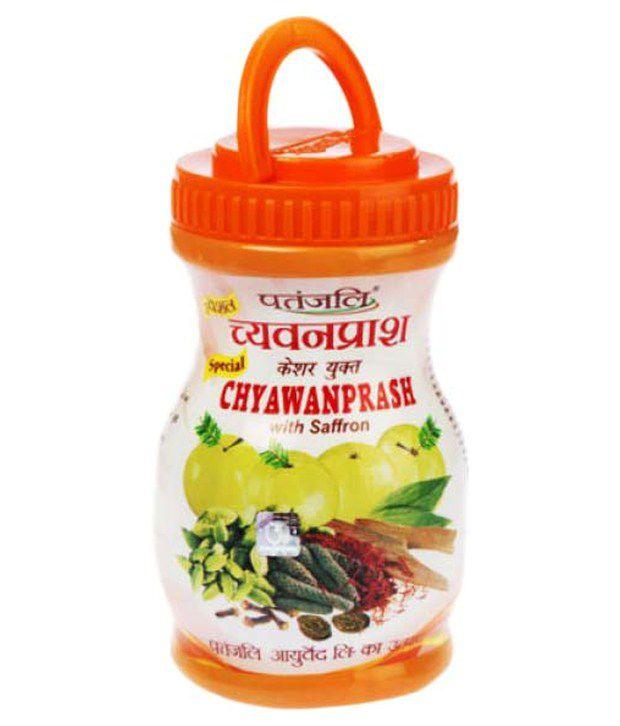 Patanjali Special Chyawanprash With Saffron 500 Gms Buy Patanjali