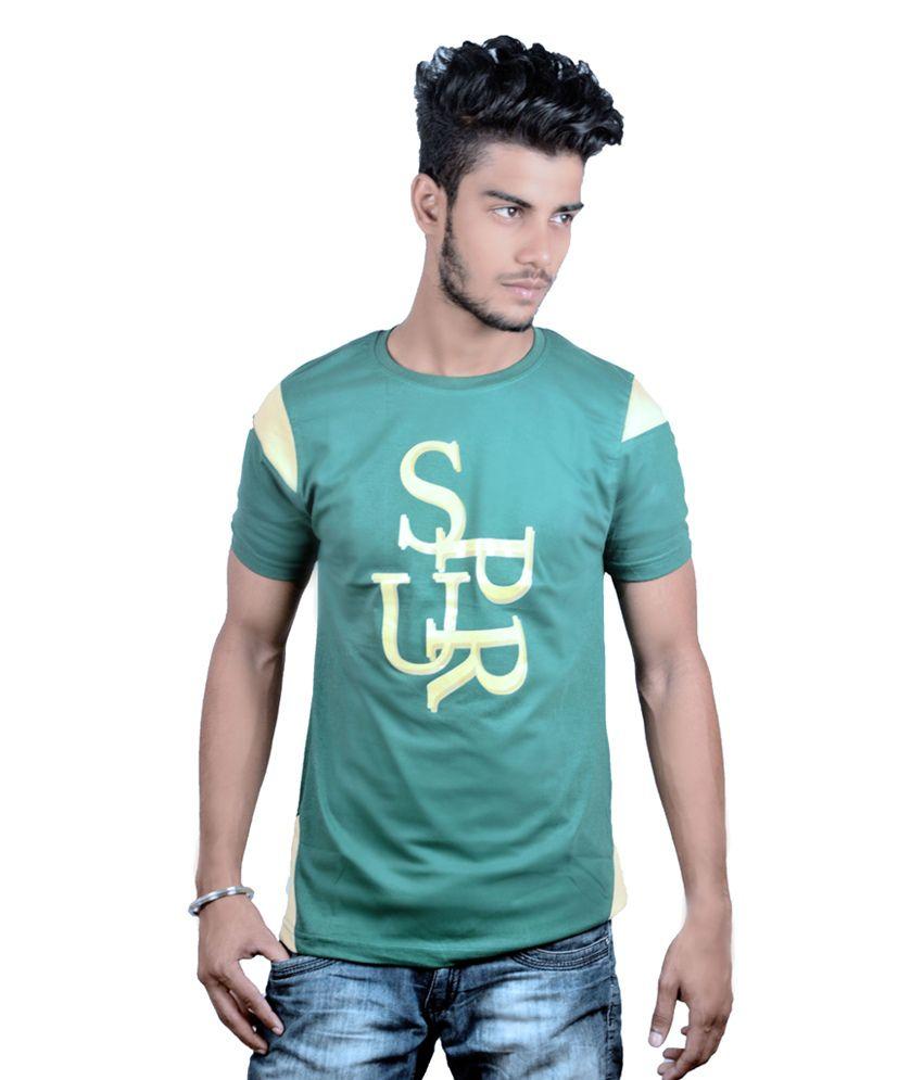 Spur Green Round T-Shirt