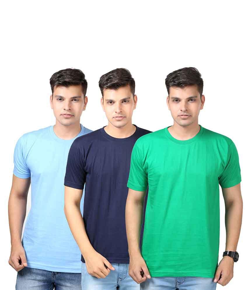 Etoffe Multi Round T-Shirt