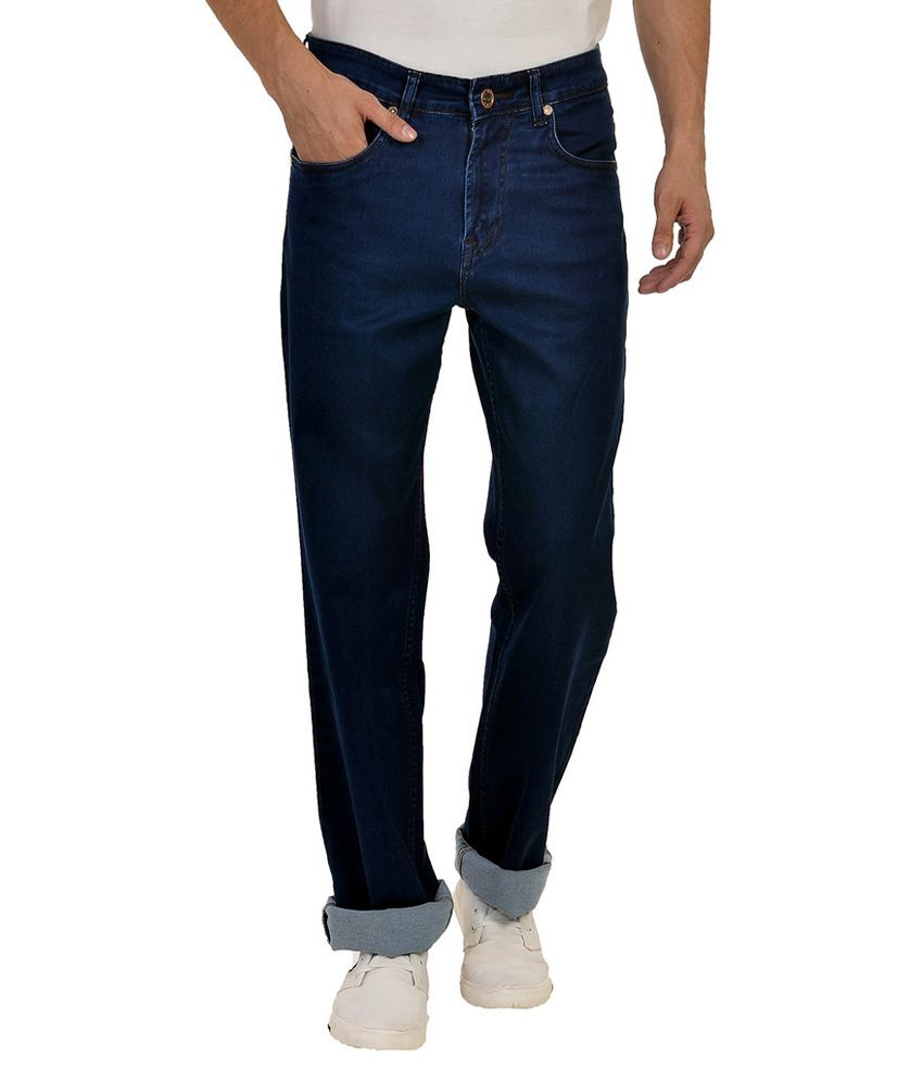 Wert Jeans Blue Relaxed Solid