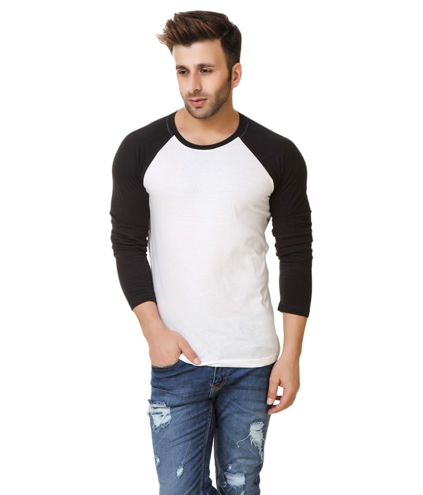 Fabstone Collection White Round T-Shirt