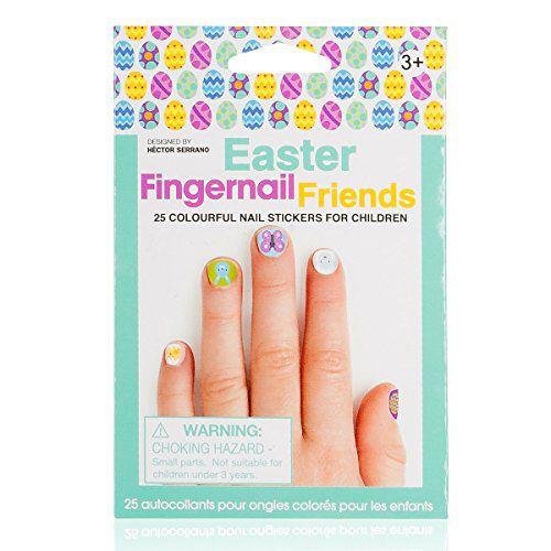Fingernail Friends Nail Stickers Nail Art For Children Easter 50