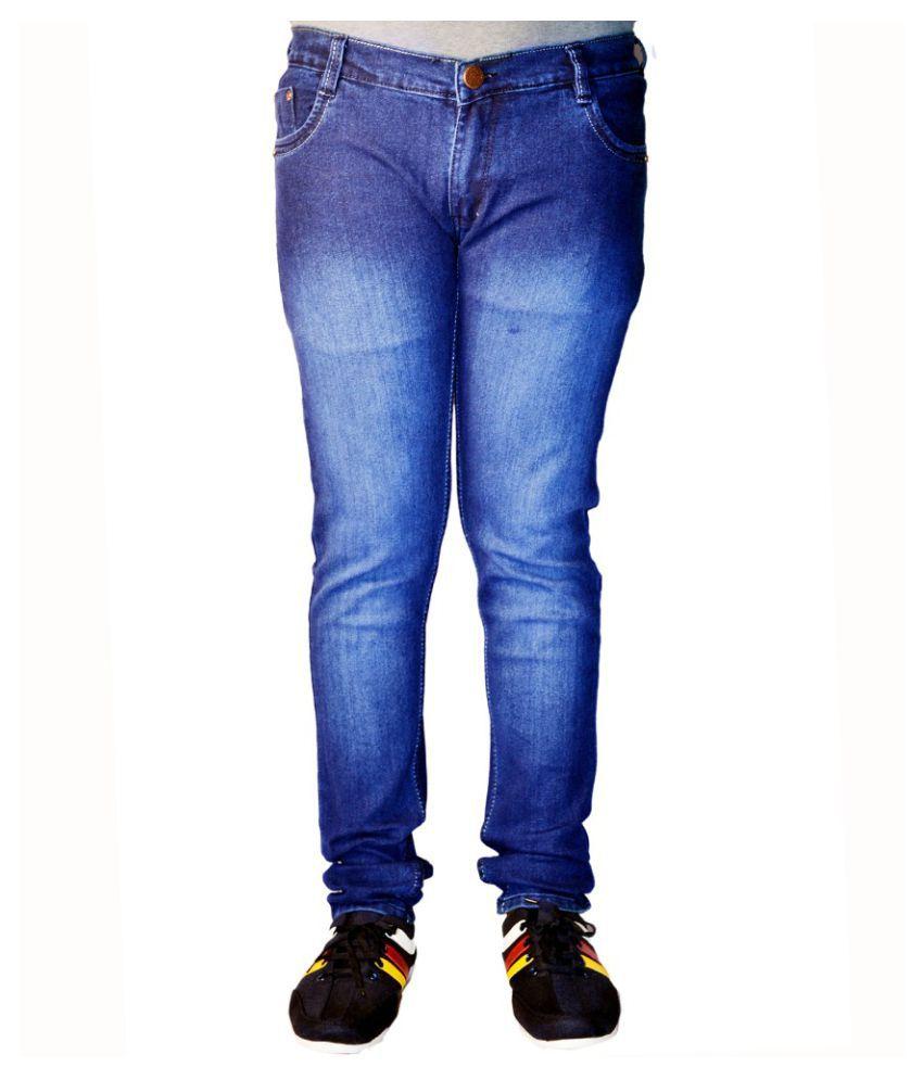 Black Eyes Jeans Blue Slim Washed