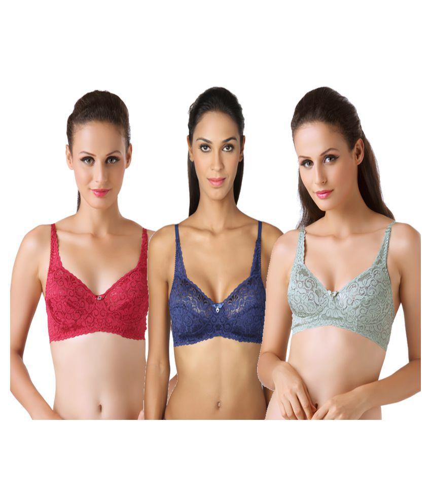 Bodyline Multi Color Lace Bras