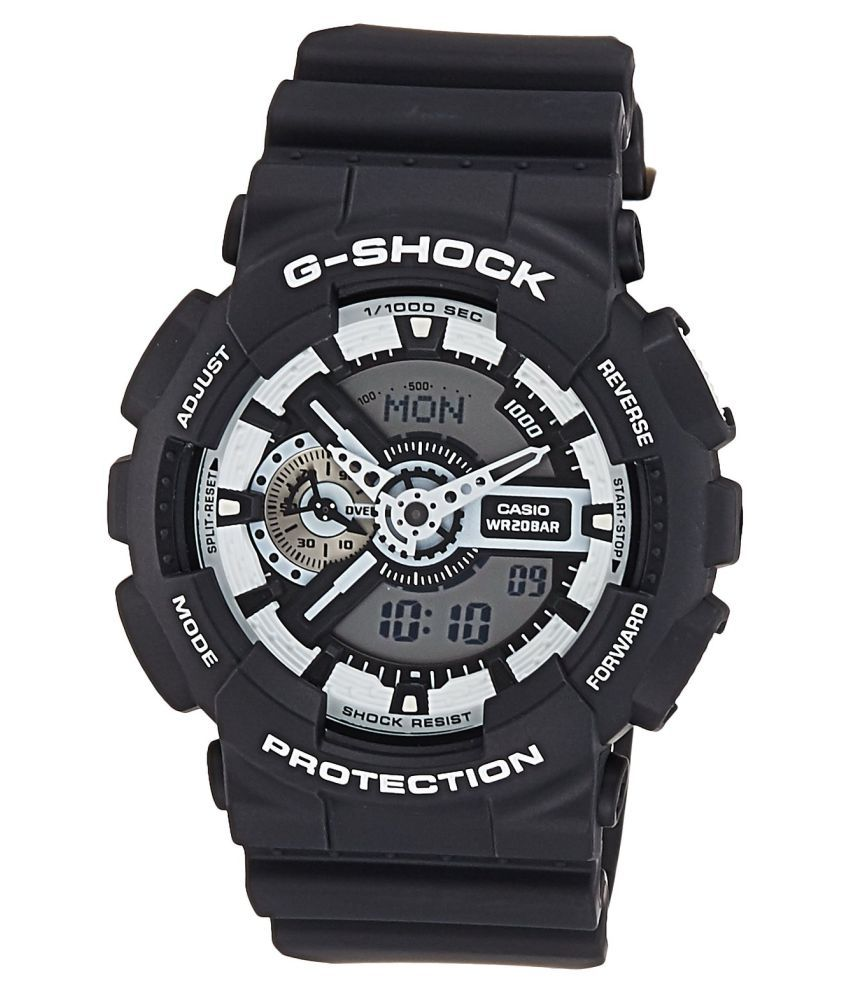 Casio-Black-G-Shock-Analog-Digital-Watch