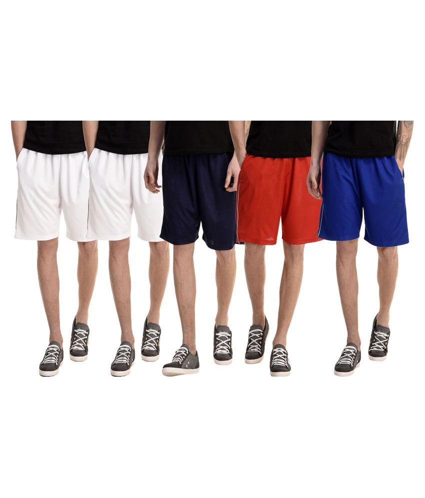 Gaushi Multi Shorts Pack of 5
